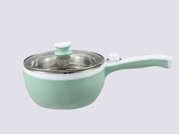不锈钢多功能长柄煮面锅