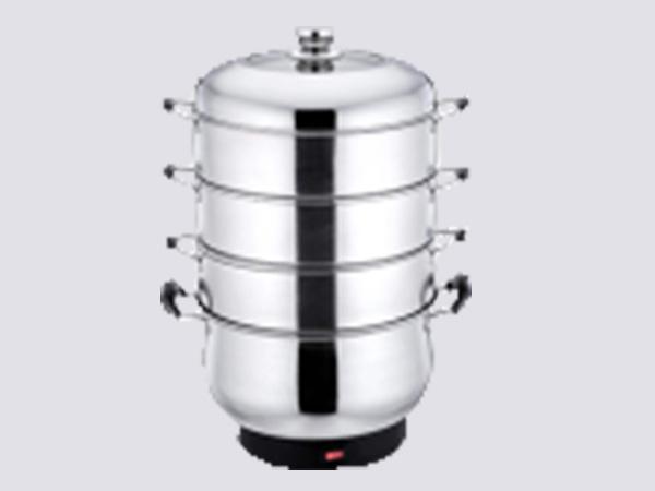不锈钢多层中式电蒸锅A款