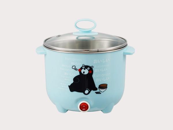 百恩居与熊本熊公司合作煮面锅加工